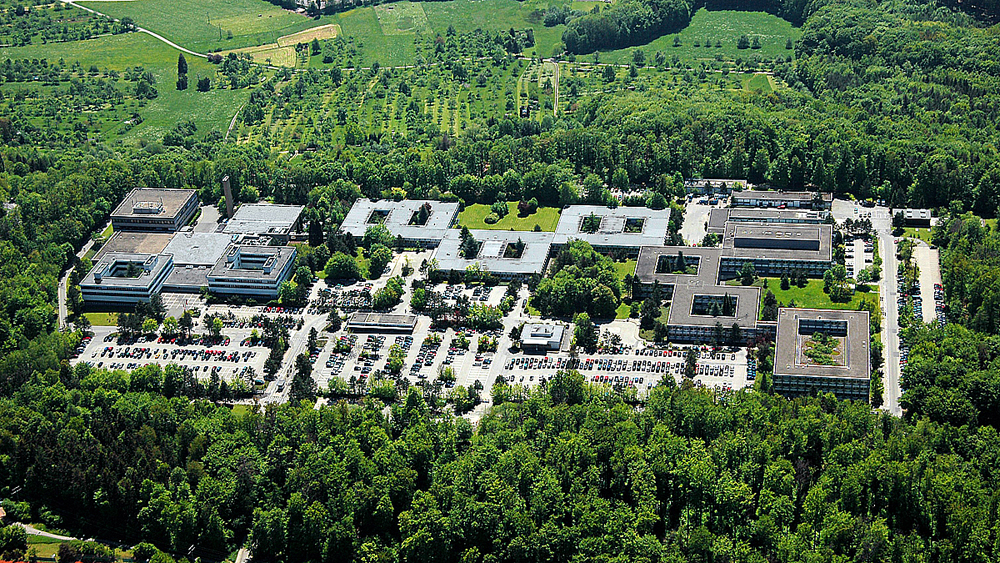 Luftbild IBM Deutschland Research  Development