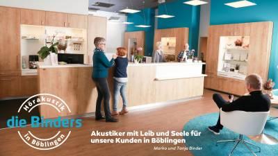 Die Binders: Akustiker mit Leib und Seele für unsere Kunden in Böblingen