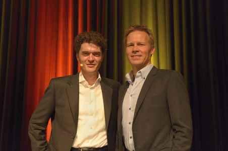 Volker Siegle mit Dirk Engehausen